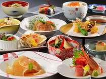 一室2~3名限定【二食付プラン 】ふかひれ姿煮・穴子・夏野菜・旬の地魚/三陸海の幸おもてなし会席コース