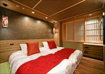 【喫煙】ZENツイン(2室)17平米、110cm幅シモンズ製マットレス