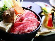 【夕食】すき焼き
