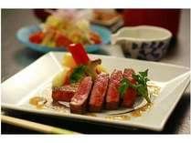 お肉の旨味たっぷり十勝和牛ステーキ