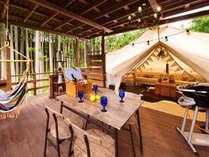 ◆グランピングSUITE◆「優雅な大人の休日」を過ごせるSUITEテントです♪