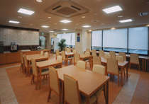 朝食コーナーです。朝食のご用意は6:00~9:00です。