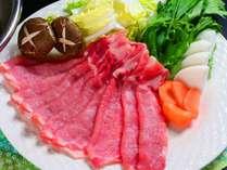 ■信州ポークの柔らか豚しゃぶ お肉200グラムでおなかいっぱい食べられる信州ポークしゃぶしゃぶです。