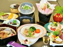 季節毎の創作料理プラン【夏】 (ロープウェイ割引券配布 特典あり)