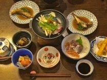 *【いなか料理】地元名物、魚のすき焼き「へかやき」など新鮮な海の幸をお楽しみください!