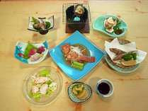 【グレードアップ】茨城の美味しい海の幸トコトン食べ尽くす!荒磯料理コース<2食付>