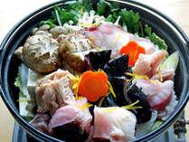【大洗あんこう鍋シンプルコース】女性に嬉しい_ぷるぷるコラーゲンがたっぷり鍋と雑炊セット<2食付>