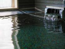 ≪大浴場≫湯ぶねにゆっくり浸かり、疲れを癒します♪
