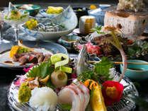 ≪カンパーナ極上会席≫ ~五島牛ステーキと新鮮な魚介をお愉しみください~