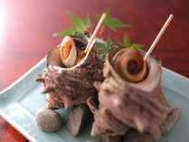 ■ふるさと割■サザエ&アワビで夏満喫★【活魚お造り】旬彩とね会席 -渚 nagisa- じゃらん限定