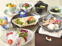 淡路島の食材も取り入れた和朝食
