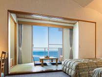 部屋から海が見えるオーシャンビュー
