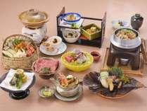 秋の味覚を五感で味わう・・・近江牛と松茸の秋色特選御膳