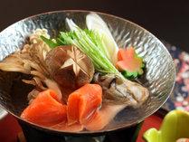 ビジネスのお客様の夕食には極力野菜を多く使い健康源となるよう心がけています