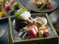 ◆天の謌会席/目にも鮮やかな季節の料理の数々をお愉しみくださいませ。(イメージ写真)