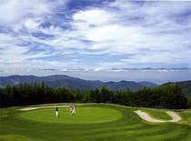 マイカー限定【日本で一番飛ぶゴルフ場】北アルプスに打つ!ゴルフ三昧プラン