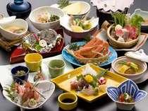 おまかせ御膳 日本海の海の幸を盛り込んだお料理 お献立一例