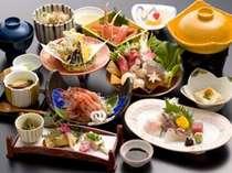 おまかせ御膳 日本海の海の幸を盛り込んだ お献立一例
