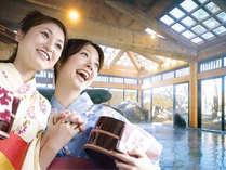 北陸温泉郷・あわら温泉の源泉かけ流しの湯できれい、さっぱり…気分爽快です!