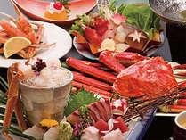 【かにづくし】茹*活*焼*揚で味覚の王道を食す!蟹の贅沢プラン☆年に一度はぜひ♪★7つの特典付