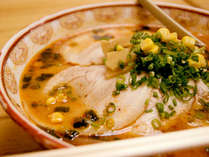 【お夜食:ラーメン】 ※お酒の後は何故か食べたくなるラーメンもございます。(イメージ写真)