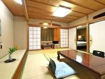【本館】客室 ※一部ベッドをご用意したお部屋もございます。