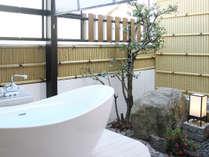 客室にガーデン露天風呂が付きました♪ ※一部客室