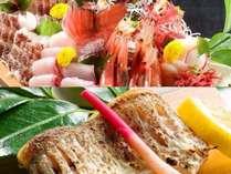 上品な脂ののった高級魚のどぐろと獲れたて新鮮なお造りを贅沢に♪ ※イメージ