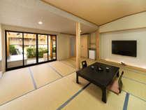 ガーデンスパ付客室