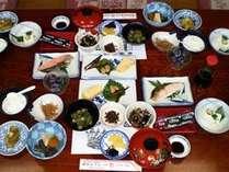 【朝食(例)】日替わりですので、連泊の方にも喜ばれています。