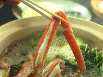 【期間限定】がむしゃらに蟹すき鍋を頬張れる大満足かにすき鍋コース☆1人3杯分の足使用