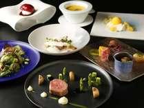 【佐賀和牛を食べる】シェフがお届けする最高の料理と器が選べるディナーコースに心躍らせ♪〈2食付き〉