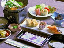 【朝食一例】和を中心としたバランスのよい朝食