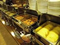 無料バイキング朝食サービス中ルートインは皆様の朝を応援しています☆【営業時間6:45~9:00】