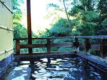 *露天風呂(殿方用)四季折々の風景が間近に!自然と触れ合うことができる露天風呂です♪
