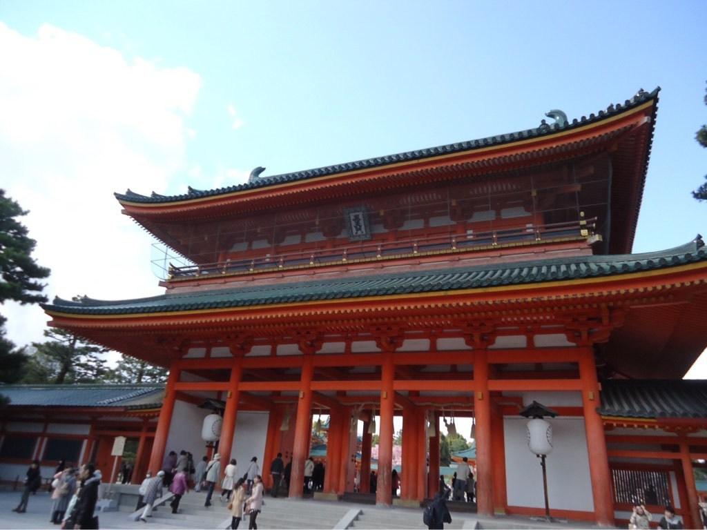 哲学の道から平安神宮への桜 ...