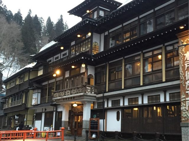 銀山温泉を題材にした旅行記