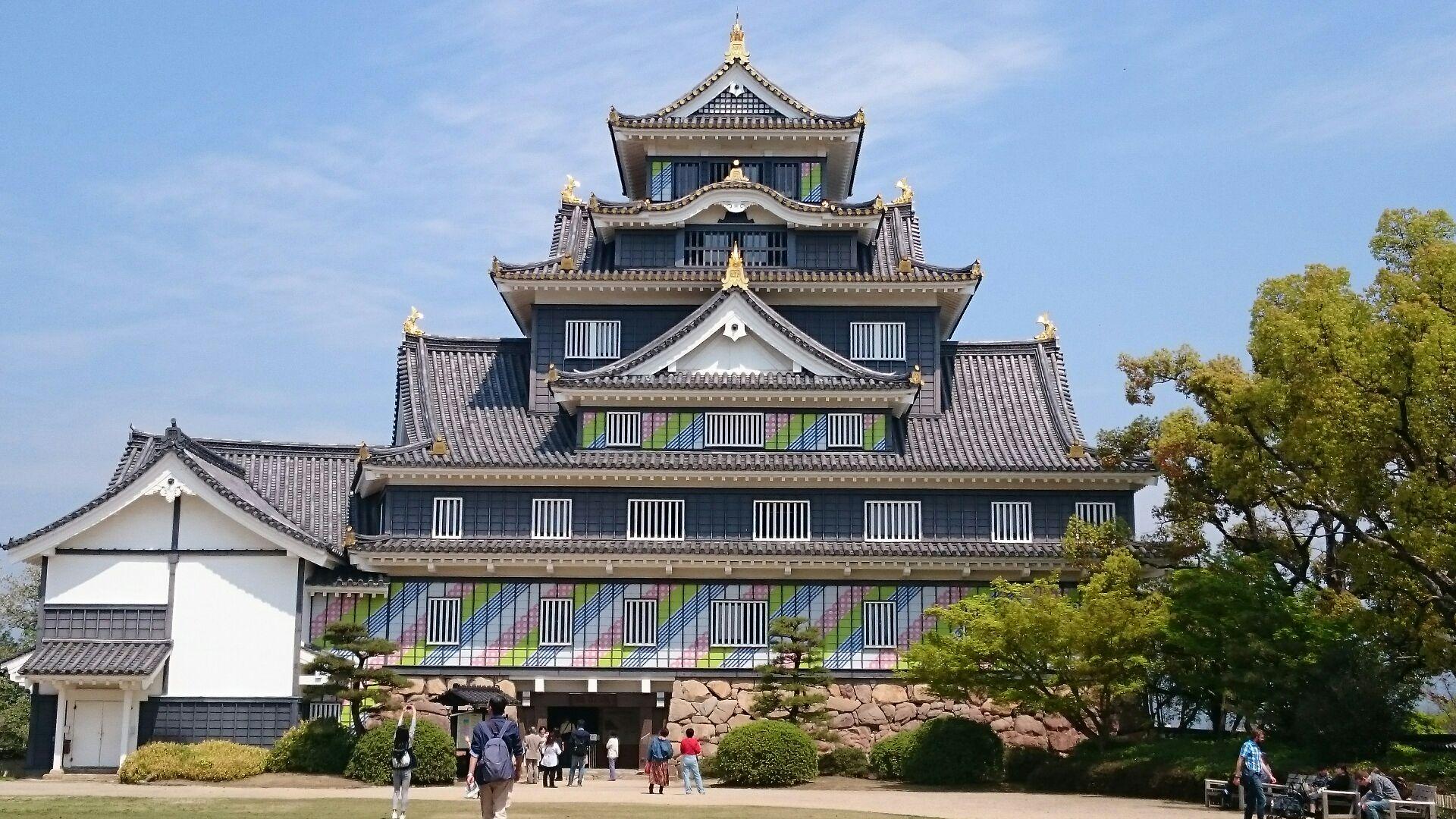 後楽園、岡山城と神社めぐりの旅...