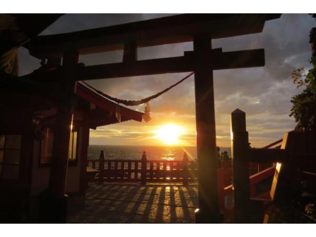 鵜戸神宮 初日の出