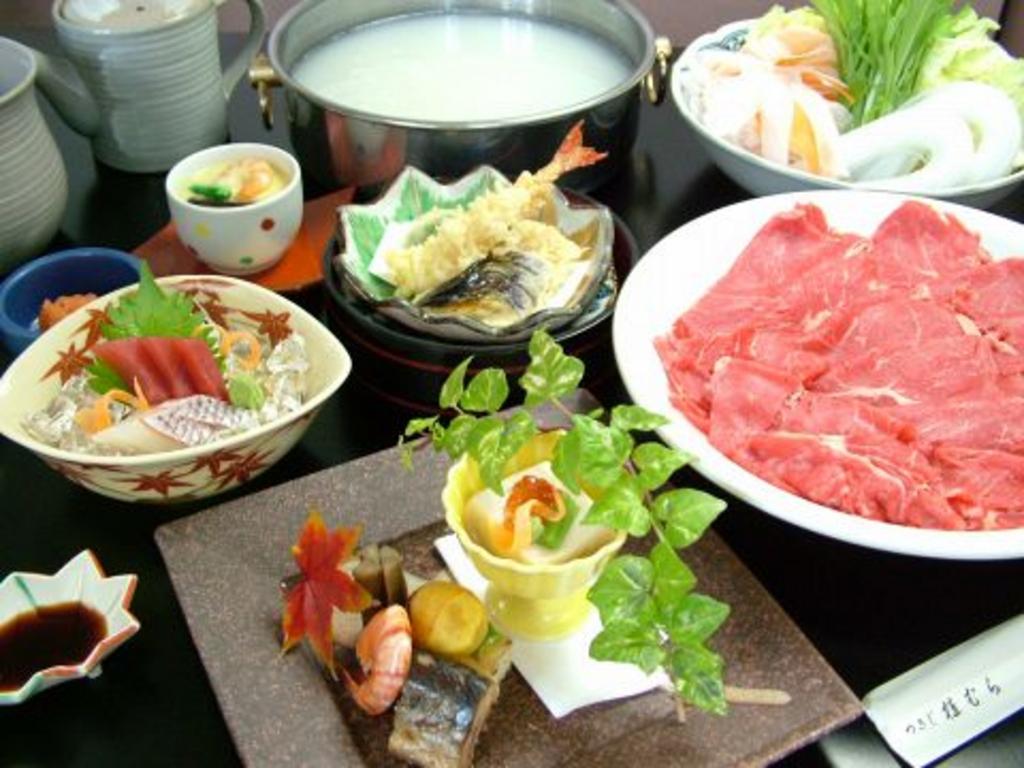 温 玉川村 和食 野菜 しゃぶしゃぶ