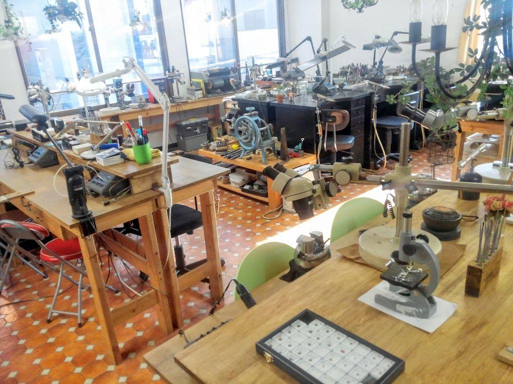 森の彫金教室gouttedor