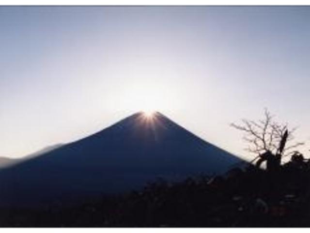 竜ケ岳 ダイヤモンド富士 初日の出