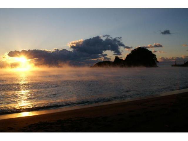 大浜海岸 初日の出