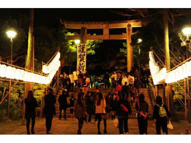 沖縄県護国神社 初詣