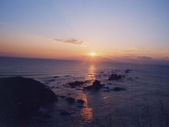 襟裳岬 初日の出