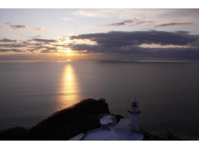 地球岬 初日の出