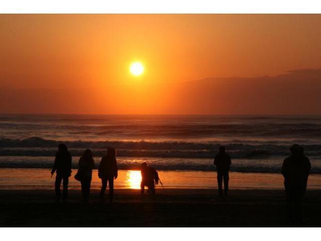 屋形海岸・木戸浜海岸 初日の出