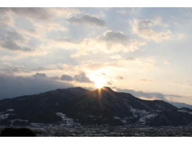 浄土ケ浜 初日の出