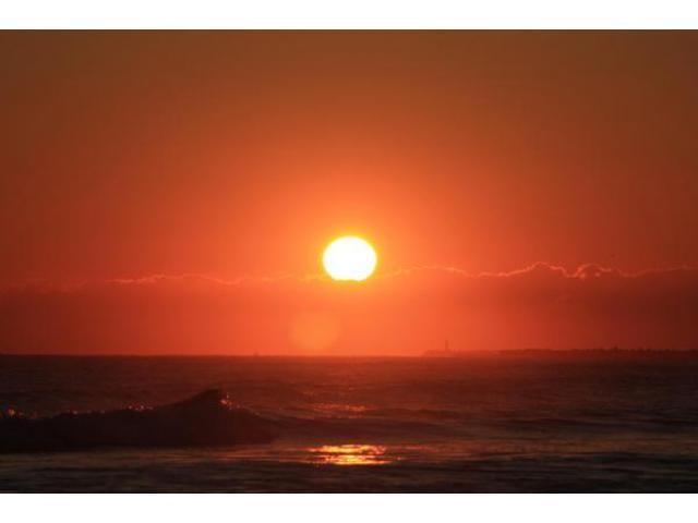 波崎海岸 初日の出