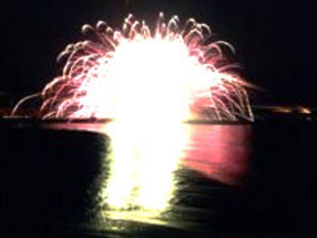 第48回たけの海上花火大会